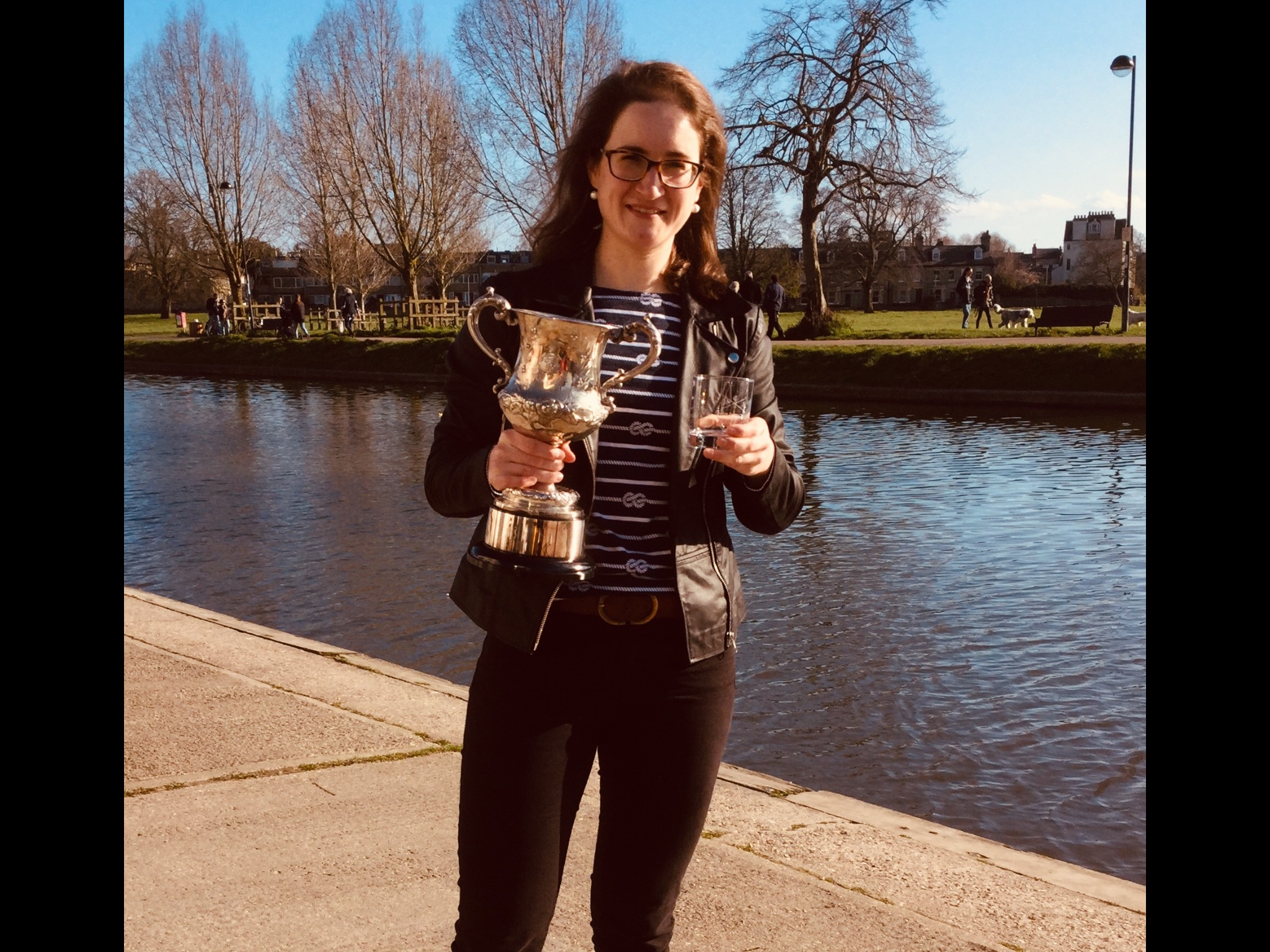 Georgie Plunkett - Winner of Womens Championship 1x 2019